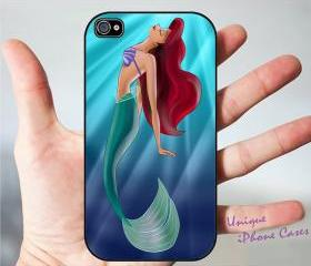 ariel little mermaid 2 for iPhone 4-4s, iPhone 5, Samsung S3, S2